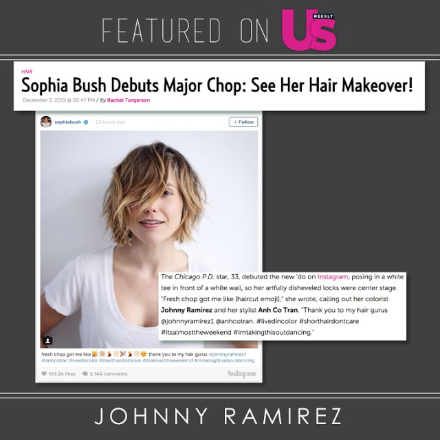 Johnny Ramirez Featured in US Weekly