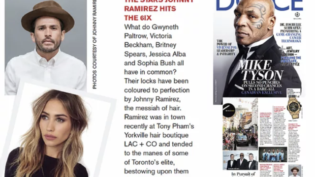Colourist to the stars Johnny Ramirez hits the 6IX ~ Dolce Vita
