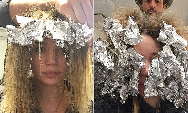 We Tried It: Johnny Ramirez's 9-Hour Spring Hair Color Transformation ~ People Magazine