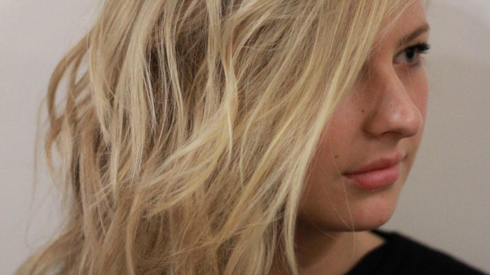 Shoulder-length Lived in Blonde…