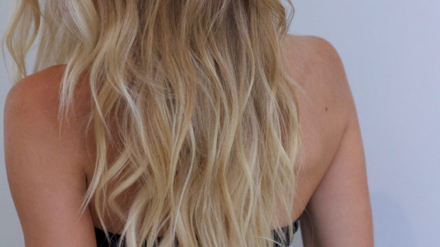 Blonde Beachy Waves…