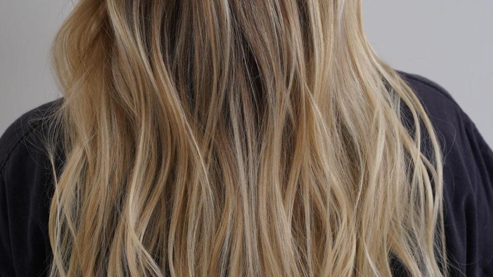 Beachy Blonde Waves…