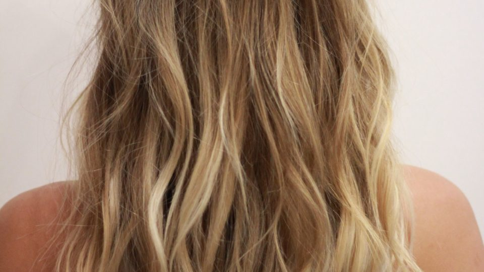 Lived-in Blonde…