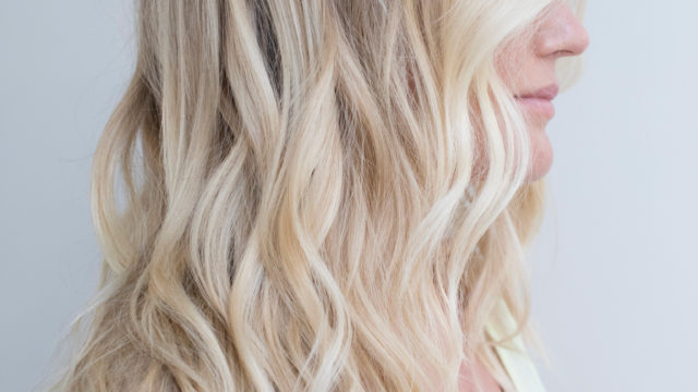 Long Wavy Blonde Baby-lights