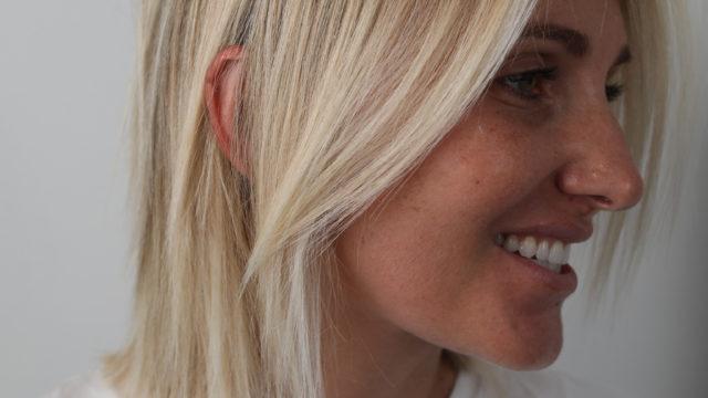 Short Winter Blonde Hues…