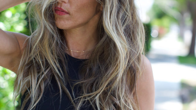 Long Blonde Beachy Balayage…
