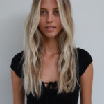 Shoulder Length Winter Blonde Hues…
