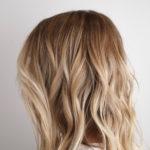 California beach kissed blonde highlights…