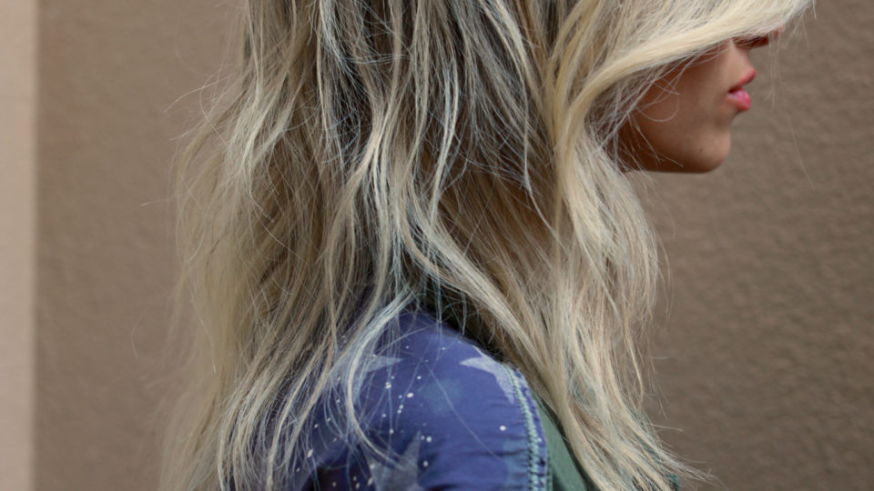Winter Blonde Highlights…