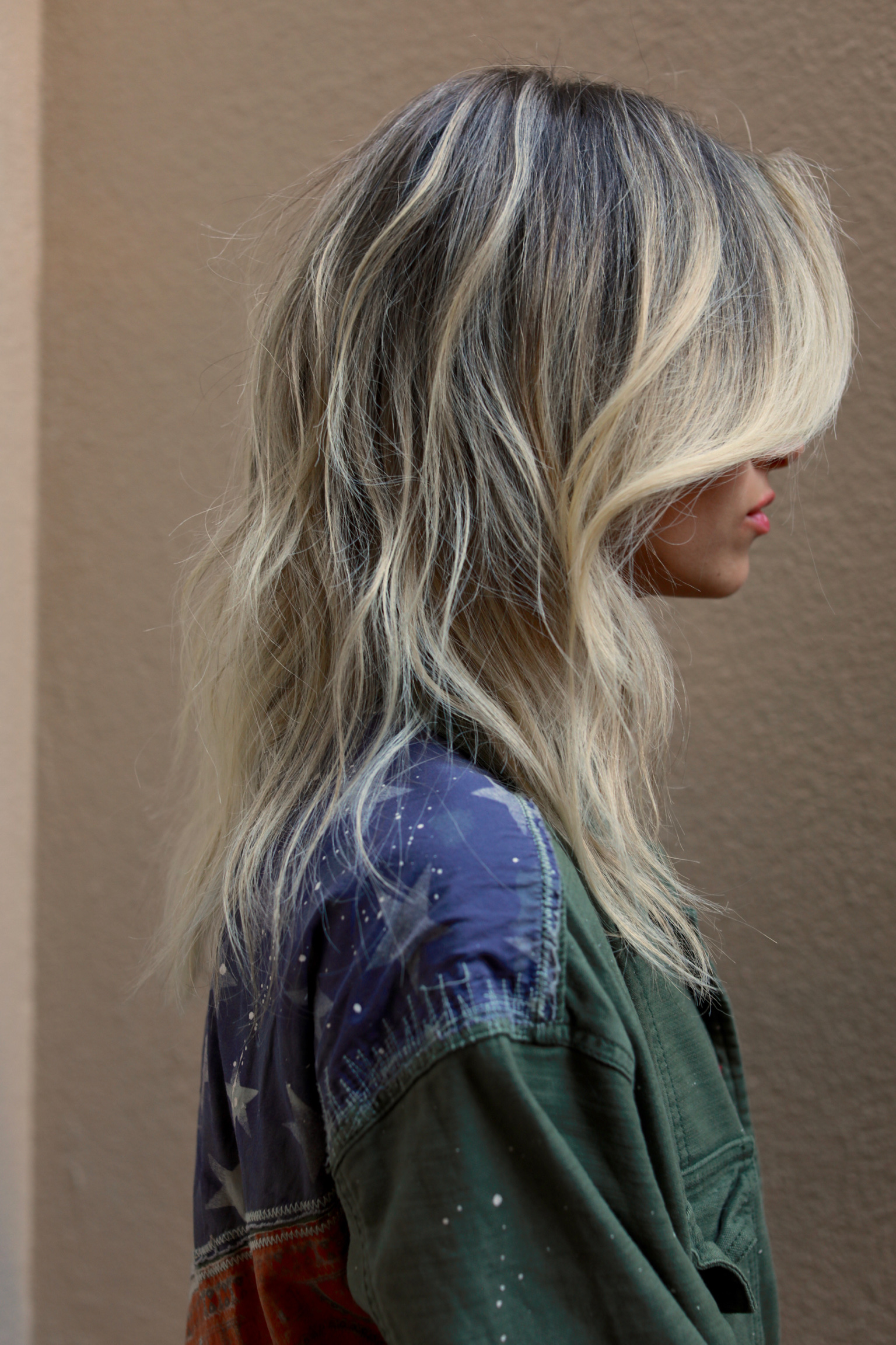 Winter Blonde Highlights…