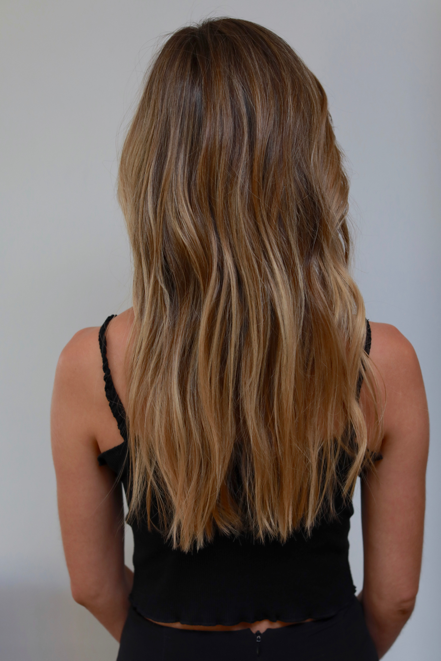 Honey blonde Highlights…