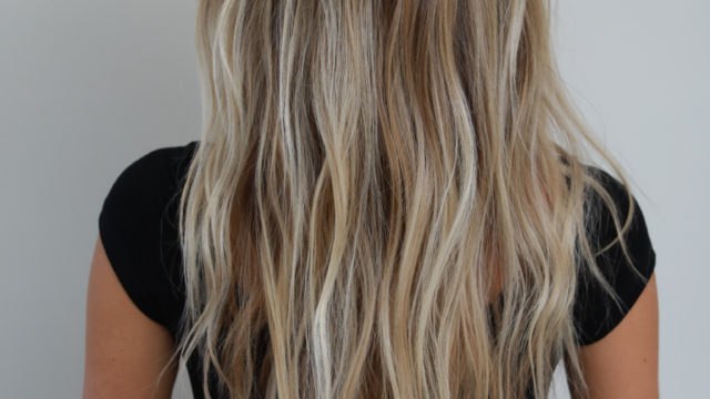 Baby Blonde Highlights…