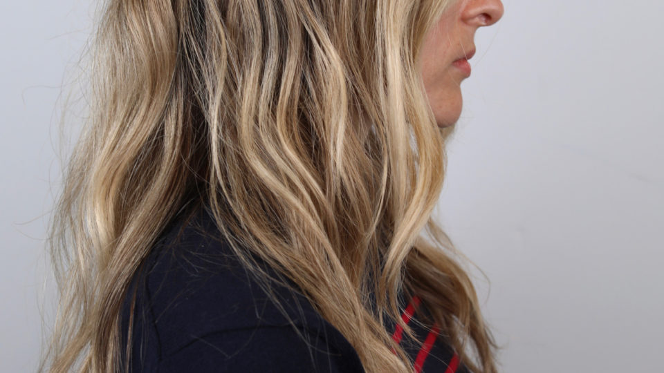 Long Spring time blonde beach waves…