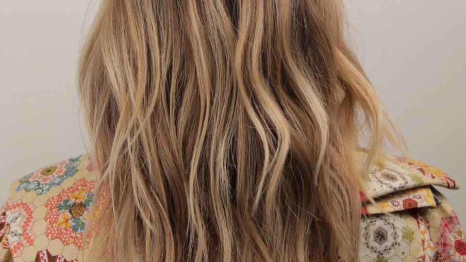 Retro Golden Blonde Hues…