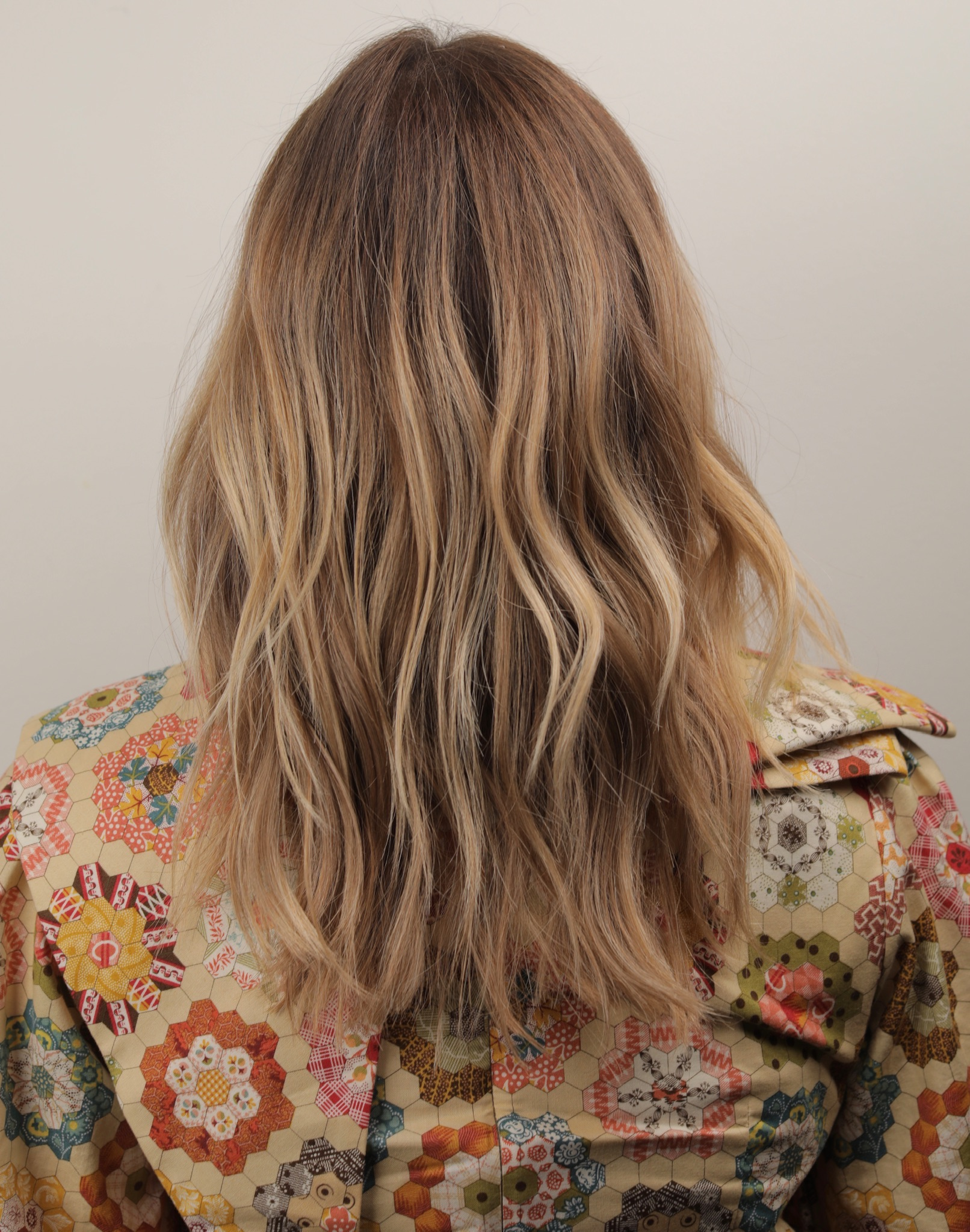 Retro Golden Blonde Hues…