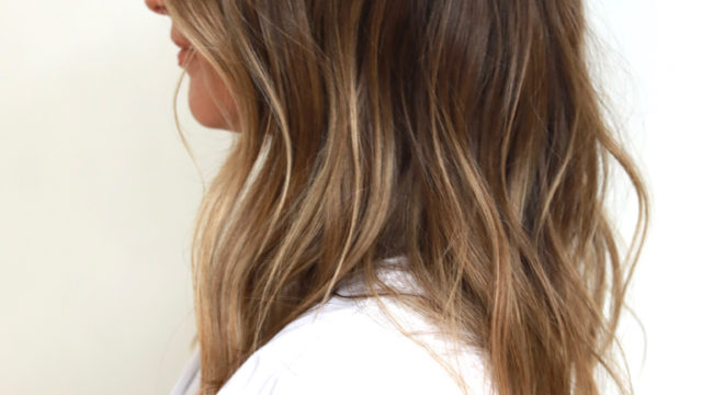 Summer Brunette Highlights…