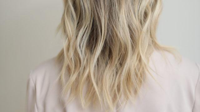 Fade to Beach Blonde Highlights…