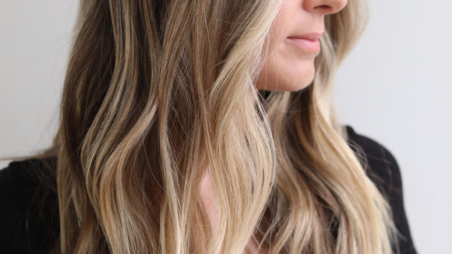 Beach Kissed Blonde Highlights