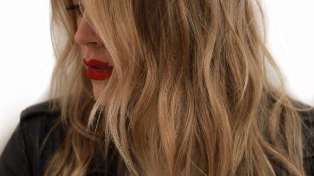 Rockabilly Blonde Highlights…