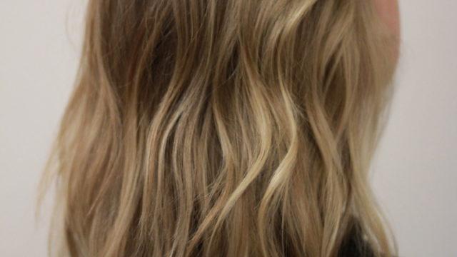 Golden Blonde Highlights…