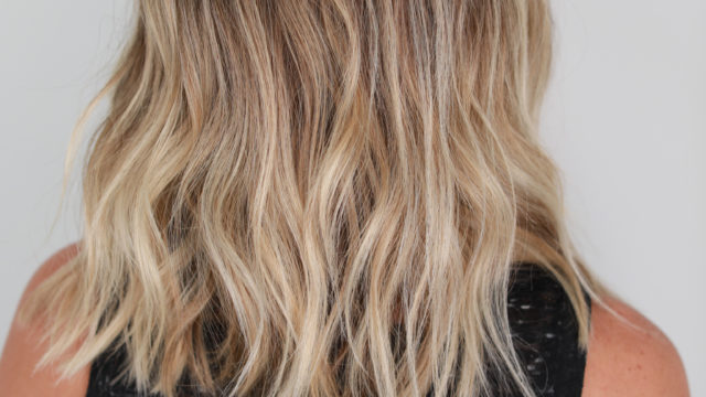 Lived in Color Blonde Ombre…