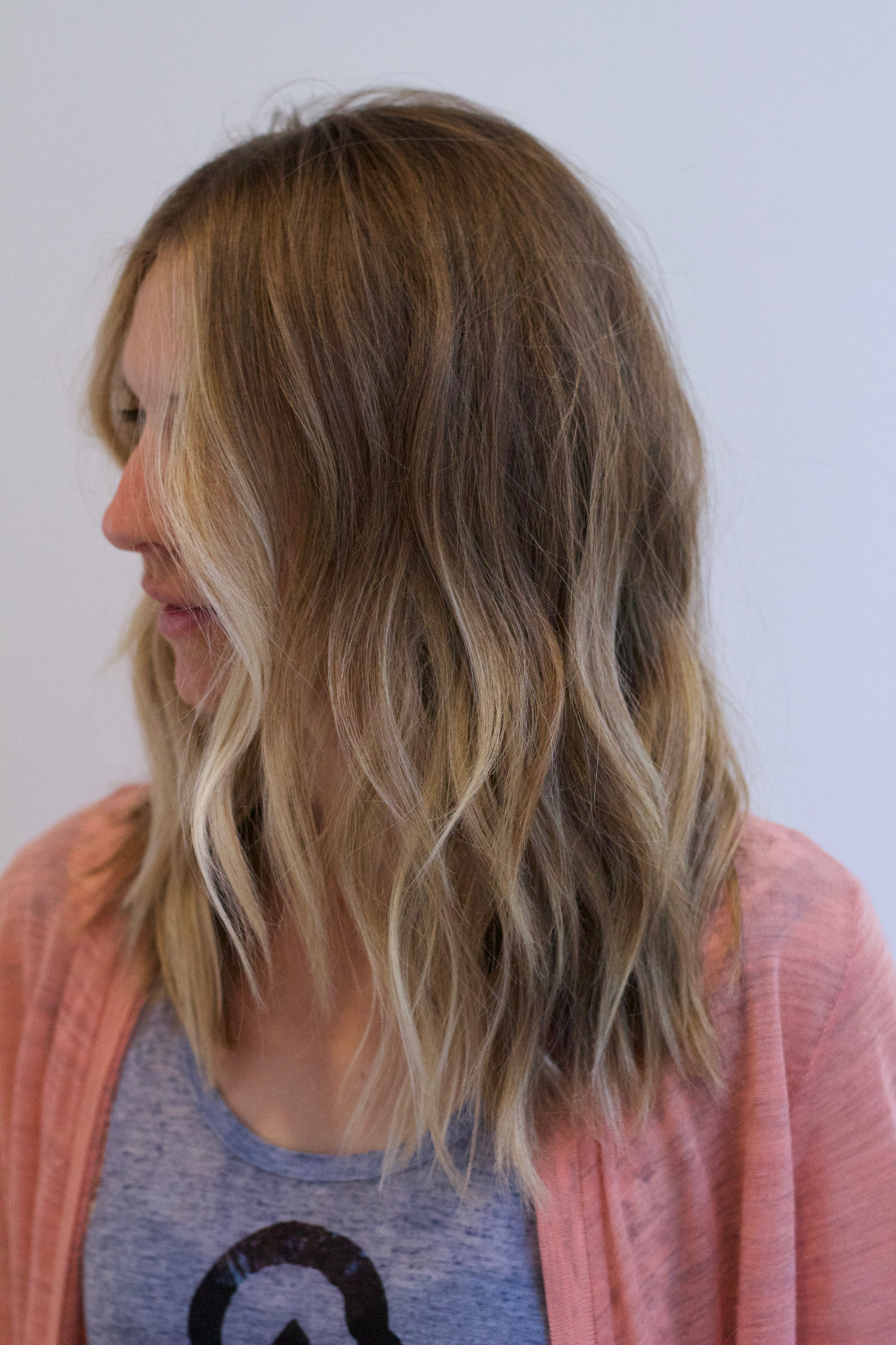 Summertime beige blonde…