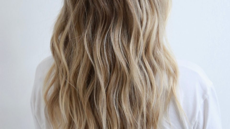 Ocean Blonde Beach Waves…