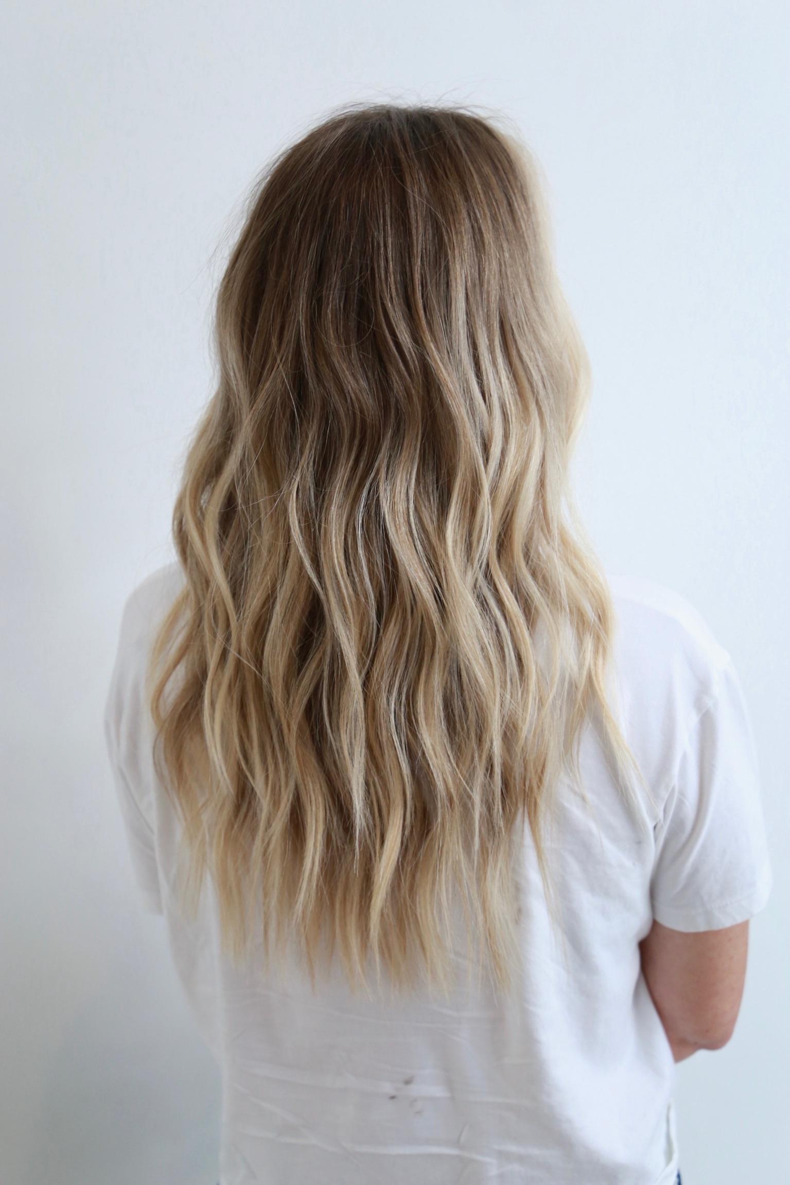 Ocean Blonde Beach Waves…
