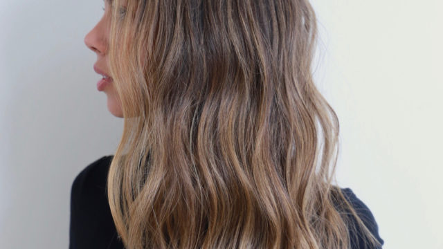 Brunette Beach Waves…
